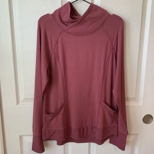Yogalicious relaxed sweater